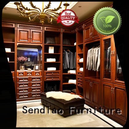 classical wooden wardrobe solid manufacturers four-star hotel