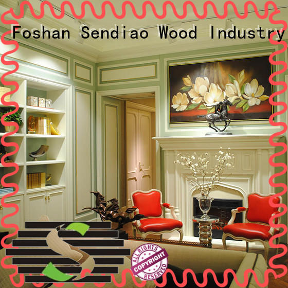 Sendiao Furniture decorative decorative molding panels New products A living room