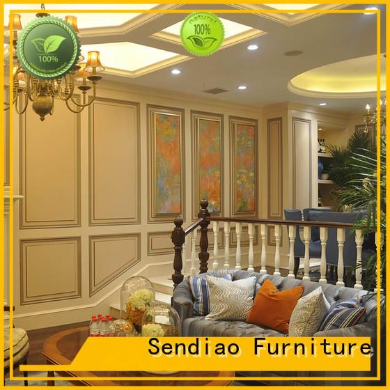 Sendiao Furniture spiral wooden spiral staircase company fivestar hotel