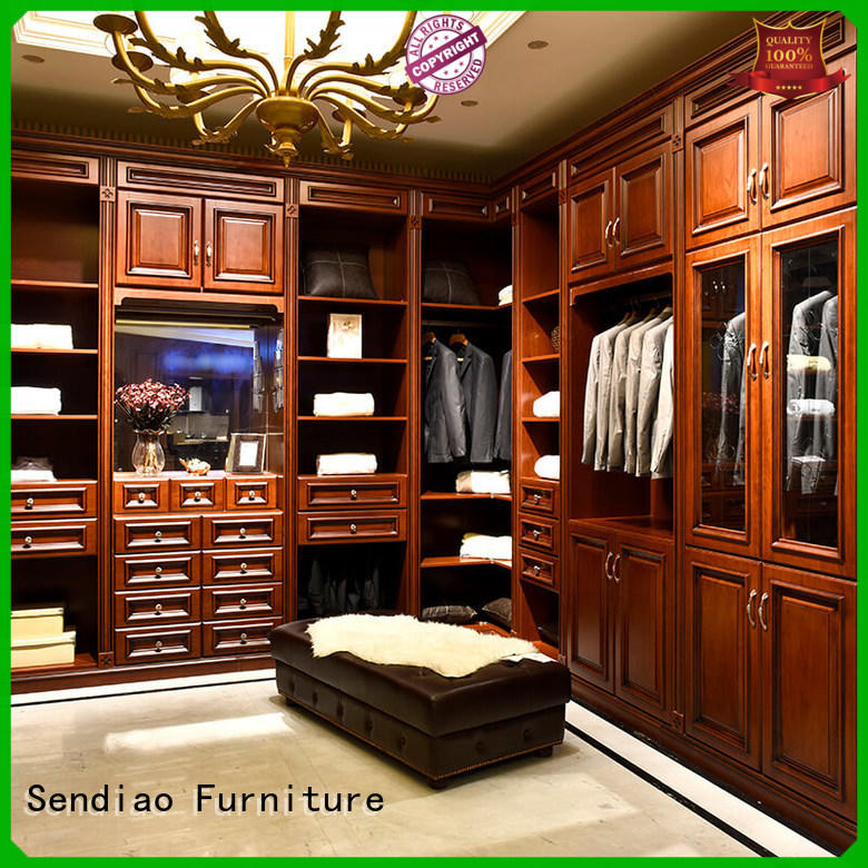 Sendiao Furniture wood wood armoire wardrobe manufacturers bedroom
