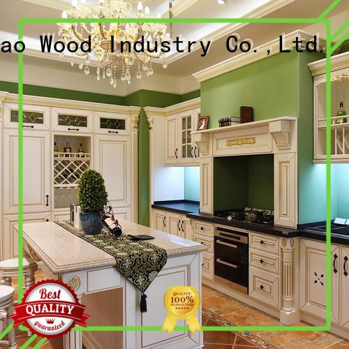 Sendiao Furniture sdk03 wood kitchen cabinets American style Bedroom