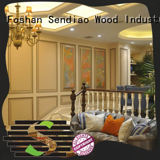 bespoke wooden staircases wood Four Star Hotel Sendiao Furniture