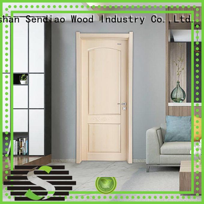 solid wood interior doors interior Bedroom Sendiao Furniture