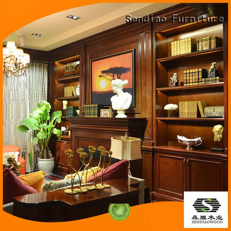 Sendiao Furniture cabinet decorative wall cabinet classical Four Star Hotel