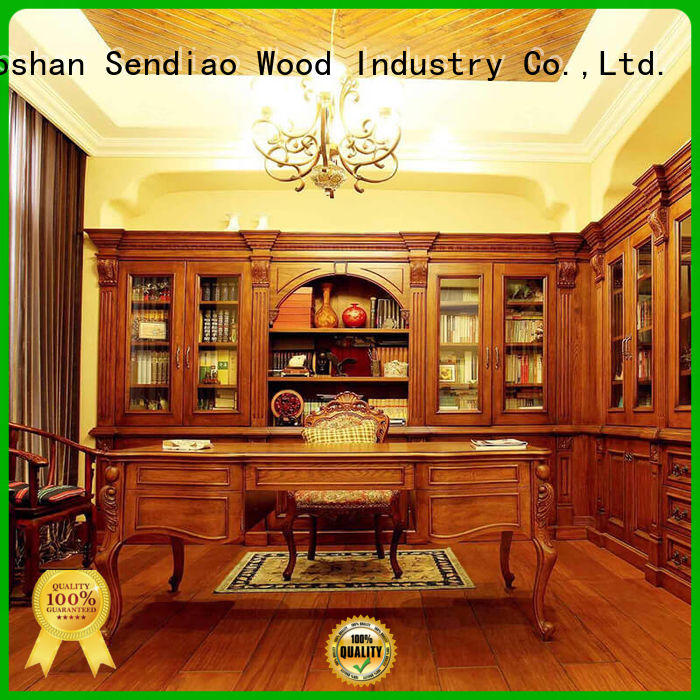 Best bespoke bookcases wood manufacturers study