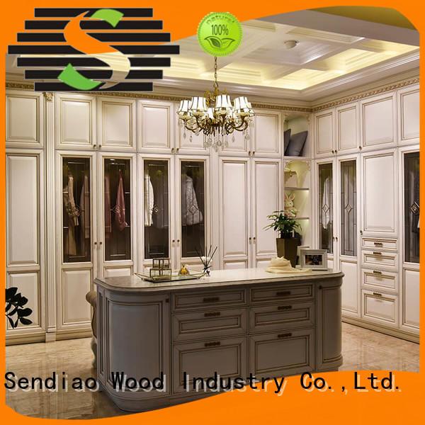 Sendiao Furniture furniture wooden wardrobe closet Suppliers fivestar hotel