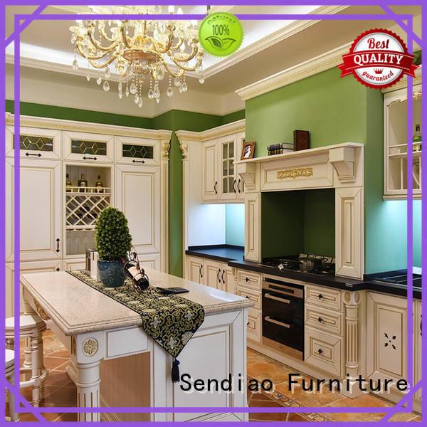 Sendiao Furniture Brand cabinets bespoke kitchen cupboards design factory