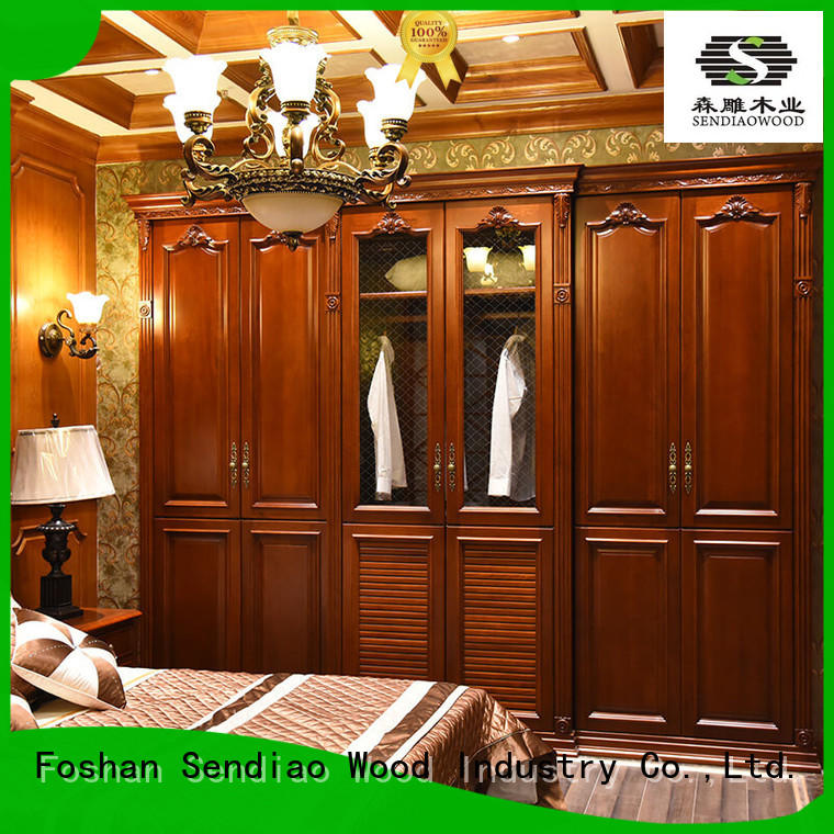 Sendiao Furniture elegance bespoke wardrobe furniture Chateau