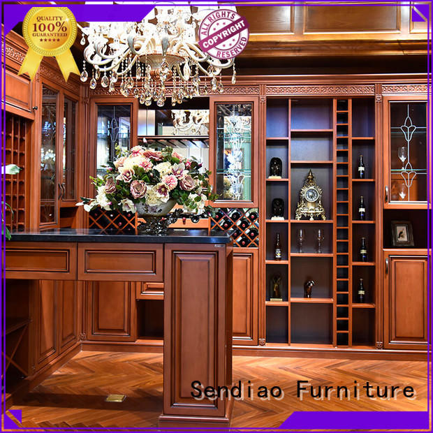Sendiao Furniture elegance wood wine cabinet company study