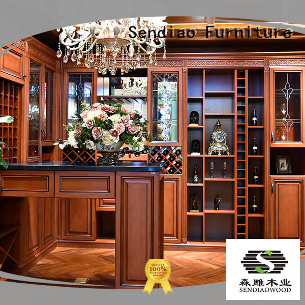 The latest generation wine storage cabinet classical Four Star Hotel Sendiao Furniture