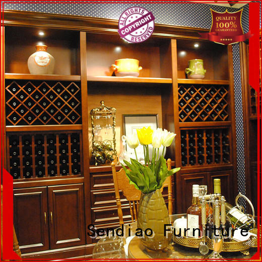 Sendiao Furniture sdwi03 wine rack cabinet low price Fivestar Hotel