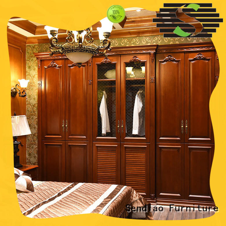 New products bespoke wardrobe design classical A living room Sendiao Furniture
