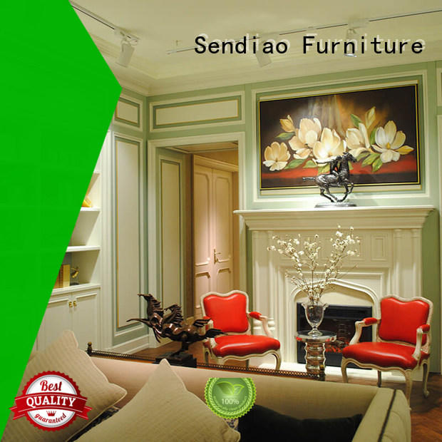 wall decorative wood molding for walls elegance A living room Sendiao Furniture