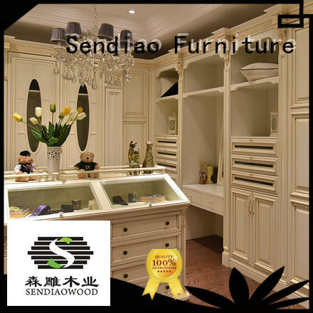 Promotion wood furniture wardrobe Promotion Bedroom Sendiao Furniture