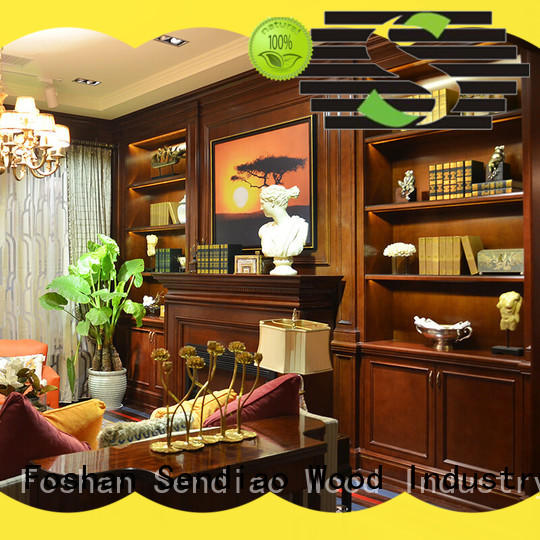sdc02 decorative wall cabinets with doors luxury Bedroom Sendiao Furniture