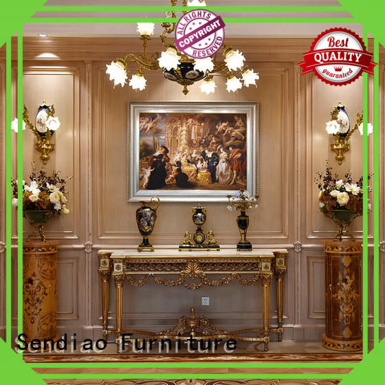 Sendiao Furniture Promotion internal wood panelling solid Chateau