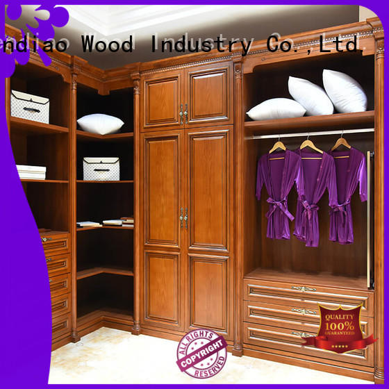 High-quality bespoke wardrobe solid factory chateau