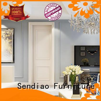 wooden internal wooden doors design Exhibition hall Sendiao Furniture