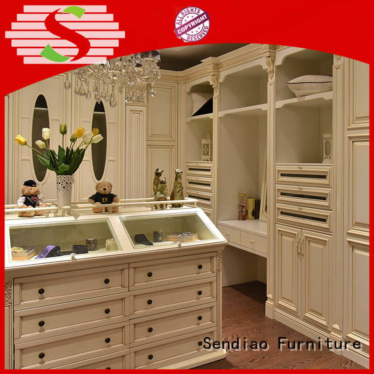 Sendiao Furniture Top wooden wardrobe closet manufacturers bedroom
