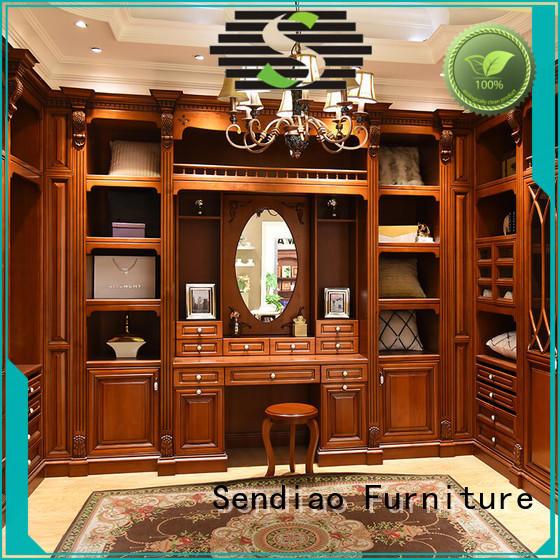 Sendiao Furniture bedroom solid wood wardrobes company exhibition hall