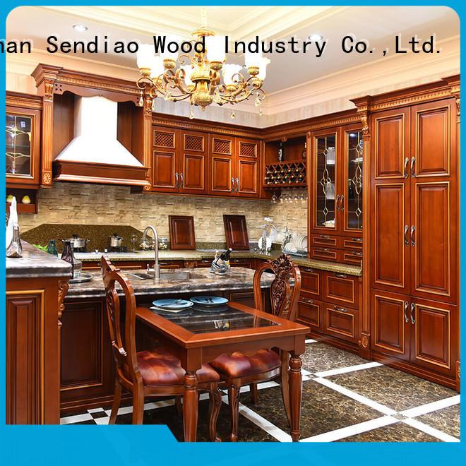 Sendiao Furniture Wholesale bespoke kitchen cabinet Supply fivestar hotel