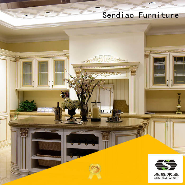 Quality Sendiao Furniture Brand cabinet freedom bespoke kitchen cupboards
