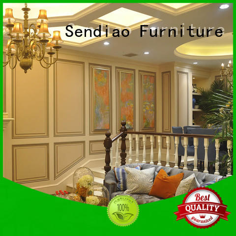 Sendiao Furniture low price bespoke staircases low price Exhibition hall
