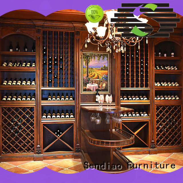 wine cabinet furniture cabinet Exhibition hall Sendiao Furniture