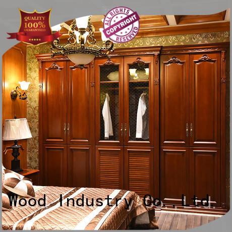 Sendiao Furniture luxury wooden wardrobe for business bedroom