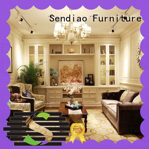 Sendiao Furniture The latest generation decorative storage cabinets classical Chateau