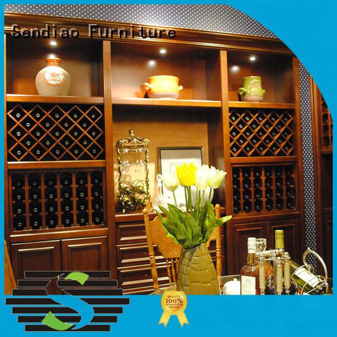 sdwi01 bespoke wine cabinet oak Four Star Hotel Sendiao Furniture