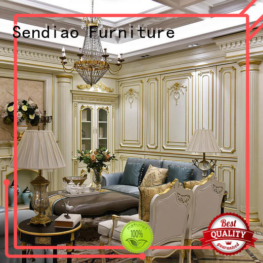 Sendiao Furniture American style decorative wall panelling interior walls low price Fivestar Hotel