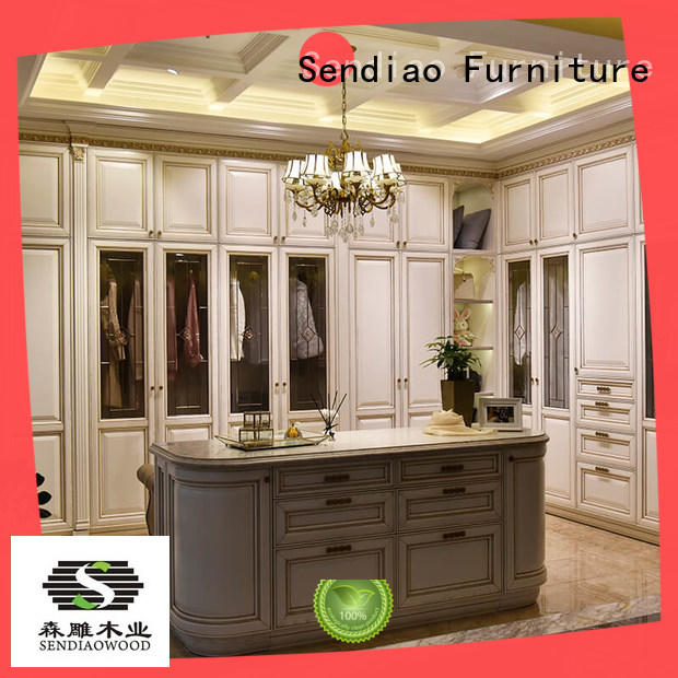 wooden clothes wardrobe furniture Chateau Sendiao Furniture