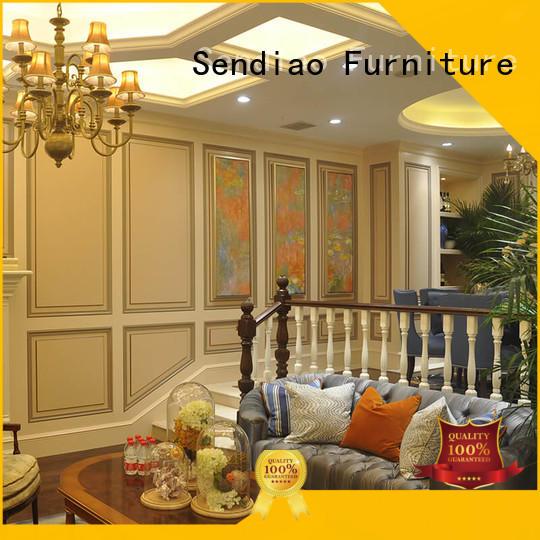 Sendiao Furniture wood wooden steps elegance Fivestar Hotel