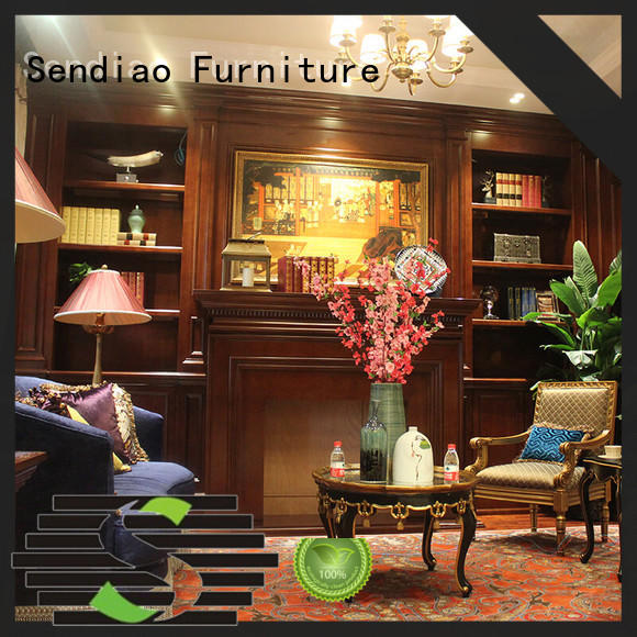 Sendiao Furniture elegance decorative storage cabinets combination A living room
