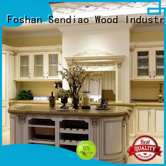 Sendiao Furniture New products custom kitchen cabinets The latest generation Bedroom