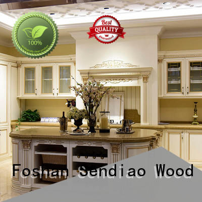 Wholesale wooden kitchen cupboards sdk02 company chateau