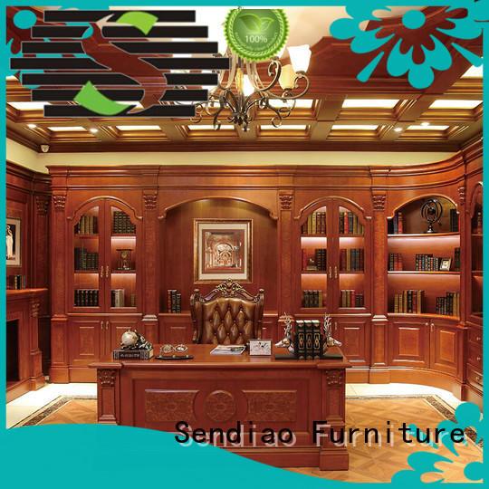 book cabinet wood Bedroom Sendiao Furniture
