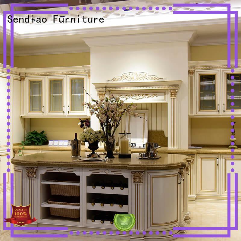 fashion cabinets OEM bespoke kitchen cupboards Sendiao Furniture