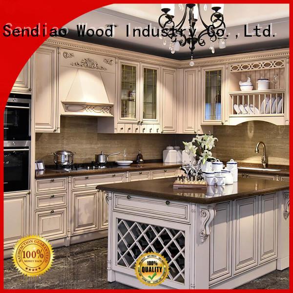 Sendiao Furniture Latest wooden kitchen cupboards factory bedroom
