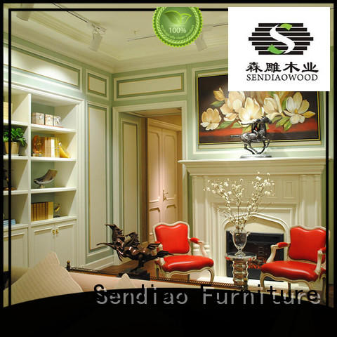 New products decorative molding panels American style A living room