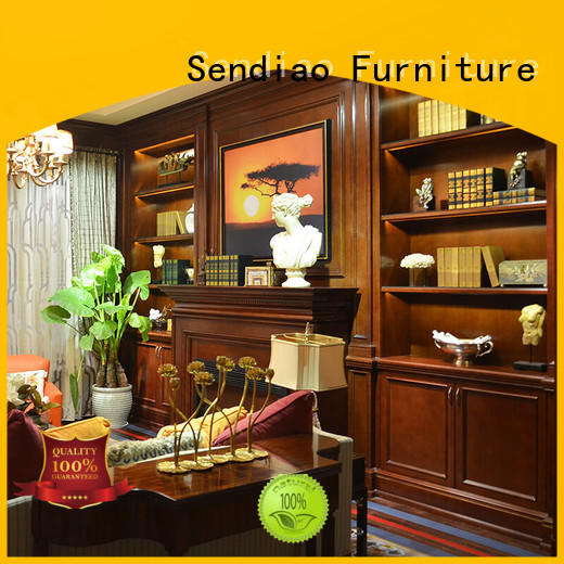 Sendiao Furniture Promotion tall decorative storage cabinets full Three-star Hotel