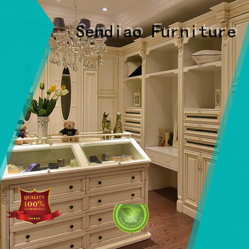 New products wood wardrobe cabinet modular classical Fivestar Hotel