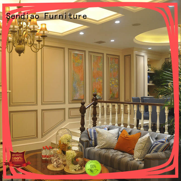 sds02 hardwood stairs elegance Bedroom Sendiao Furniture