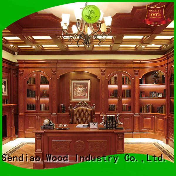 sdb01 wooden cabinets for living room classical Three-star Hotel Sendiao Furniture