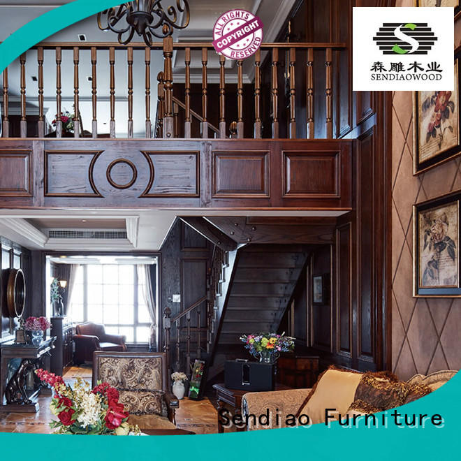 The latest generation bespoke staircases Promotion Three-star Hotel Sendiao Furniture