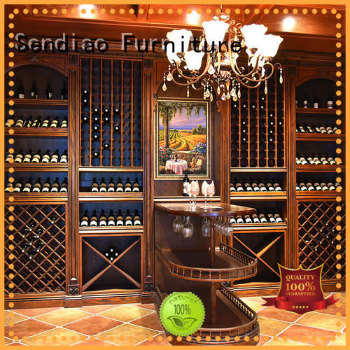 solid wood wine cabinet New products Exhibition hall Sendiao Furniture