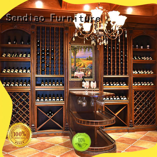 Top bespoke wine cabinet red factory three-star hotel