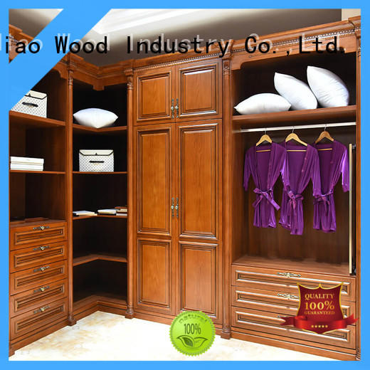 Sendiao Furniture classical bespoke wardrobe low price Four Star Hotel