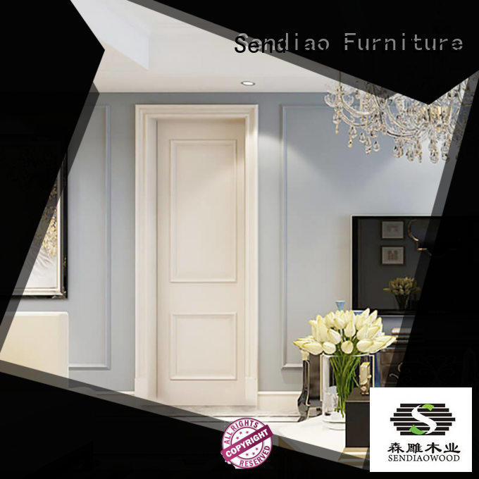 New products custom interior doors American style A living room Sendiao Furniture